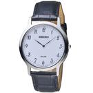 SEIKO精工簡約經典時尚太陽能腕錶      V115-0BE0W   SUP863P1