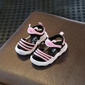夏季新男寶寶鞋嬰兒防滑軟底鞋子0-1一3歲2女童學步兒童公主涼鞋  米娜小鋪
