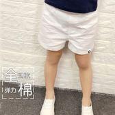 兒童短褲   2018童裝兒童全棉白色短褲男童休閒短褲女童短褲寶寶棉質褲子 霓裳細軟