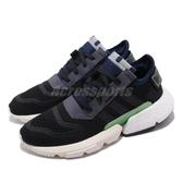adidas 慢跑鞋 Pod-S3.1 W 黑 藍 女鞋 運動鞋 P.O.D System 【PUMP306】 EE7031