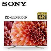 SONY 新力 KD-55X9000F 55吋 4K HDR 液晶電視【公司貨保固+免運】