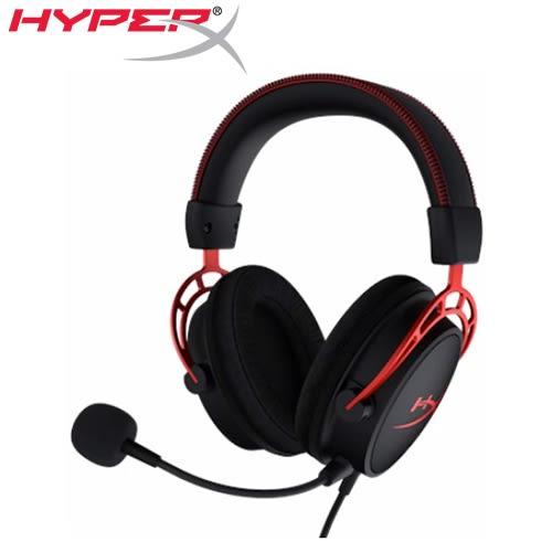 HyperX 金士頓 Cloud Alpha 電競耳機麥克風(HX-HSCA-RD/AS)
