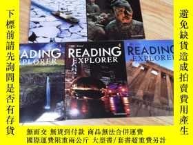 二手書博民逛書店READING罕見EXPLORER 1、2、3、4、5(五本合售)Y313199