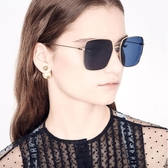Dior 太陽眼鏡 STELLAIRE1 LKSA9 (金-藍鏡片) 歐美時尚率性百搭款 墨鏡 太平洋藍 #金橘眼鏡