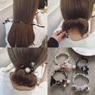 盤髮器 韓式盤髮器編髮卡子髮繩髮帶韓國頭飾髮飾丸子頭飾品花苞頭神器 店慶降價