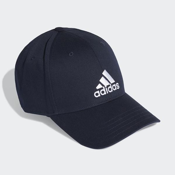 J-adidas Baseball Cap 藍 白 男女款 老帽 棒球帽 運動 休閒 遮陽 FQ5270