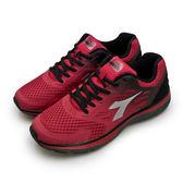 LIKA夢 DIADORA 迪亞多那 專業TPU貼合輕量慢跑鞋 極限裝甲系列 紅黑 6762 男