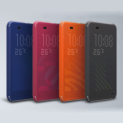 【Love Shop】HTC Butterfly2 蝴蝶2 炫彩顯示皮套 Dot View 洞洞套 另有M8 Desire 820 感應皮套