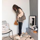 棉服女背心秋冬外套2018新款寬鬆韓版面包服棉衣短款『新佰數位屋』