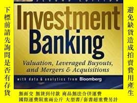 全新書博民逛書店InvestmentBanking: Valuation Leveraged Buyouts And Merger