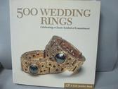 【書寶二手書T9/收藏_IFG】500 Wedding Rings: Celebrating a Classic Sym