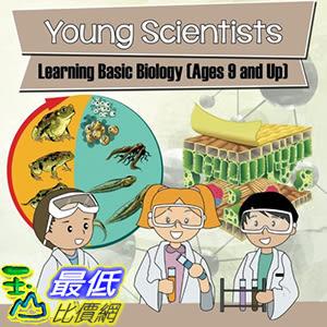 [106美國直購] 2017美國暢銷兒童書 Young Scientists: Learning Basic Biology (Ages 9 and Up) Paperback