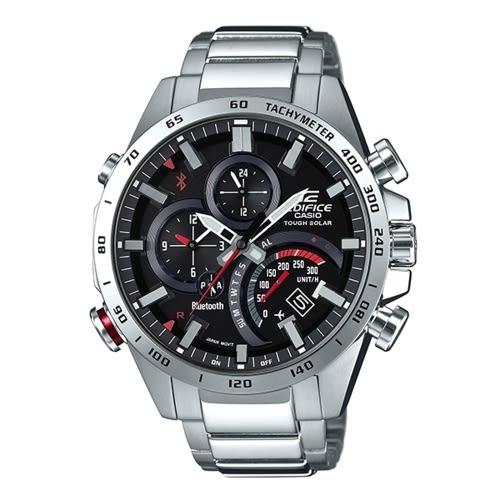 CASIO EDIFICE粗獷剛毅風格藍牙智慧錶時尚錶/EQB-501XD-1A
