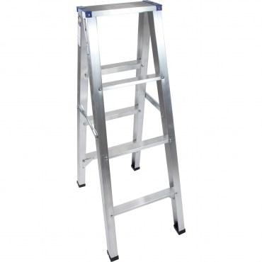 四層鋁製馬椅梯-腳架加強版