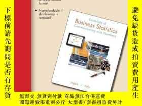 二手書博民逛書店Essentials罕見Of Business StatisticsY255562 Sanjiv Jaggia