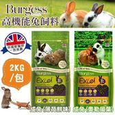 *WANG*伯爵Burgess高機能成兔飼料《薄荷鮮味 奧勒岡葉》2kg/包