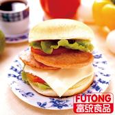 【富統食品】雞肉漢堡排(800g/包;約20片)