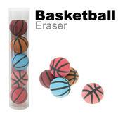 【允拓】高潔淨造型橡皮擦 籃球5入裝