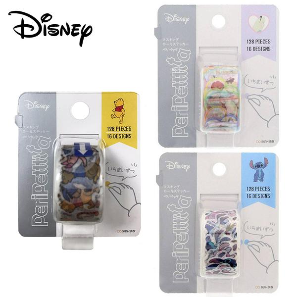 【日本正版】迪士尼 貼紙捲 日本製 貼紙 紙膠帶 手帳貼 愛麗絲 PeriPettttta 565569 565576 565583