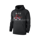 Nike 長袖T恤 Toronto Raptors Classic NBA Hoodie 黑 彩 男款 帽T 暴龍隊 【ACS】 CI4538-010