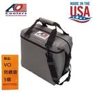 【AO COOLERS】酷冷軟式輕量保冷托特包-12罐型-炭灰 約為市售軟式保冷包的2倍保冷力