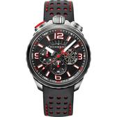 BOMBERG 炸彈錶 BOLT-68 復刻黑紅計時手錶 BS45CHSP.061-1.11