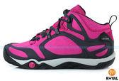 MERRELL 新竹皇家 PROTERRA MID GORE-TEX 桃紅 防水運動鞋 女款 NO.I3351