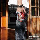◆ 商品貨號:BM7066-78 ◆ 海浪繡上紅色墨達人,將單寧幻化成極富生命力的牛仔風潮~