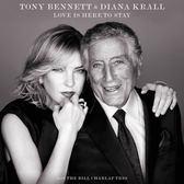 【停看聽音響唱片】【黑膠LP】戴安娜克瑞兒 & 東尼班奈特:純愛年代
