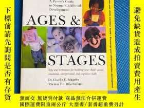 二手書博民逛書店Ages罕見& Stages: A Parent s Guide to Normal Childhood Deve
