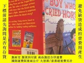二手書博民逛書店TERRY罕見DEARY S GREEK TALES THE BOY WHO CRIED HORSE :特裏·迪裏