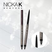 美國 Nicka.K 24hr防水雙頭眼線膠筆(附削筆器) 0.3g 黑色【BG Shop】