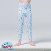 【WIWI】汽車麥坤溫灸刷毛九分發熱褲(水漾藍 童100-150)