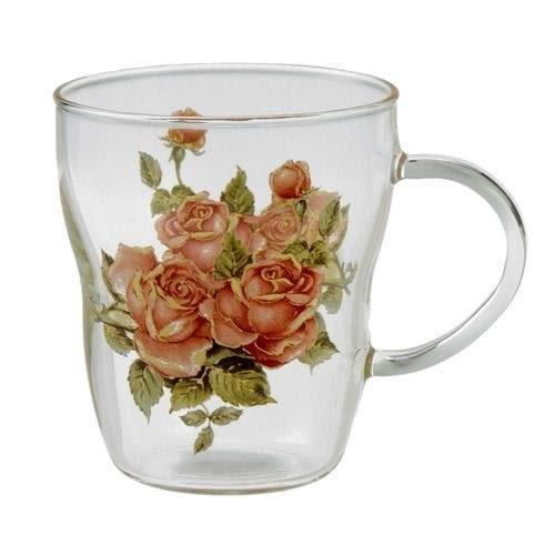 日本【紀念玫瑰 Anniversary Rose】耐熱馬克杯