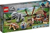 【LEGO樂高】JURASSIC WORLD 侏儸紀世界 帝王暴龍vs甲龍 #75941