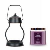 (組)EPOCHSIA x Pray 守夜人金屬香氛蠟燭暖燈(L)-復古銅+檸檬