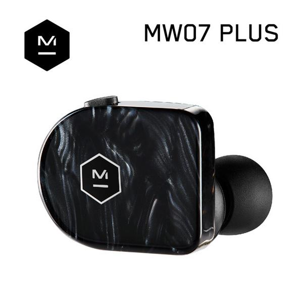公司貨『 Master & Dynamic MW07 Plus 星晨黑 』真無線藍牙耳機/精品藍芽5.0+aptX/IPX5