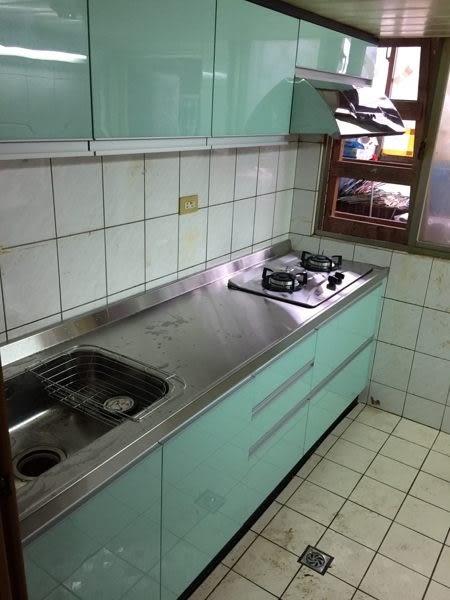 搶手美廚活動開始 限量至7/20 木芯桶+結晶門+不鏽鋼檯面 上櫃+下櫃200CM 搭豪山2機35760