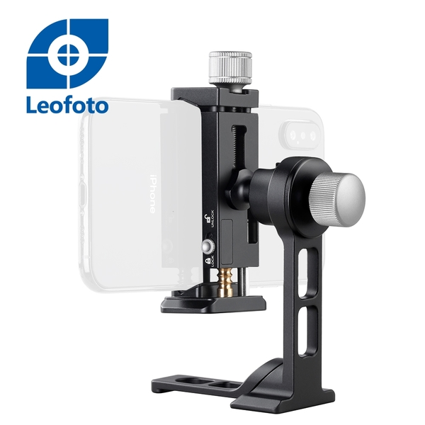 Leofoto 徠圖 PC-90II + PS-1 手機支架套組 720度旋轉【公司貨】