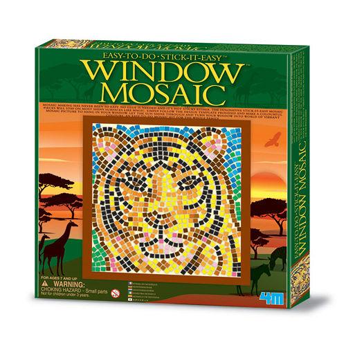 【4M】WINDOW MOSAIC 馬賽克拼圖-老虎