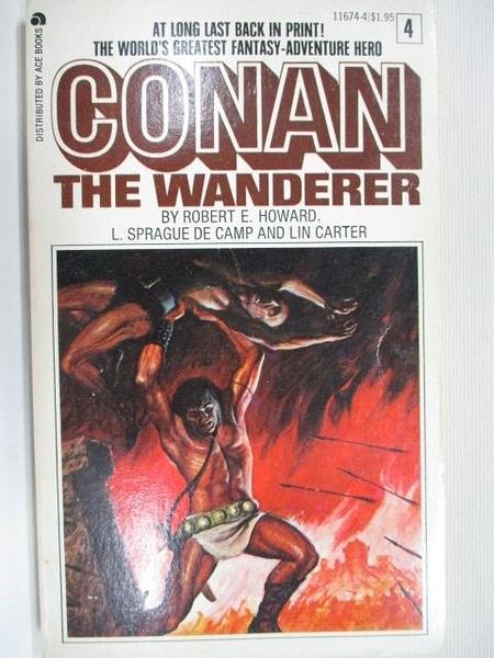 【書寶二手書T9/原文小說_B8A】Conan the Wanderer