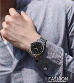 韓版休閒手錶男士時尚夜光男錶學生女錶女士復古腕錶石英錶 Ifashion