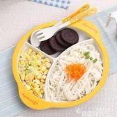 竹纖維兒童餐具吃飯輔食碗寶寶餐盤嬰兒分格卡通飯碗叉子勺子套裝 韓國時尚週