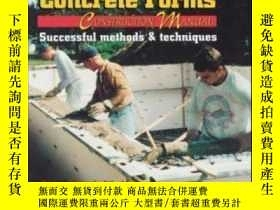 二手書博民逛書店Insulating罕見Concrete Forms Construction ManualY307751 P