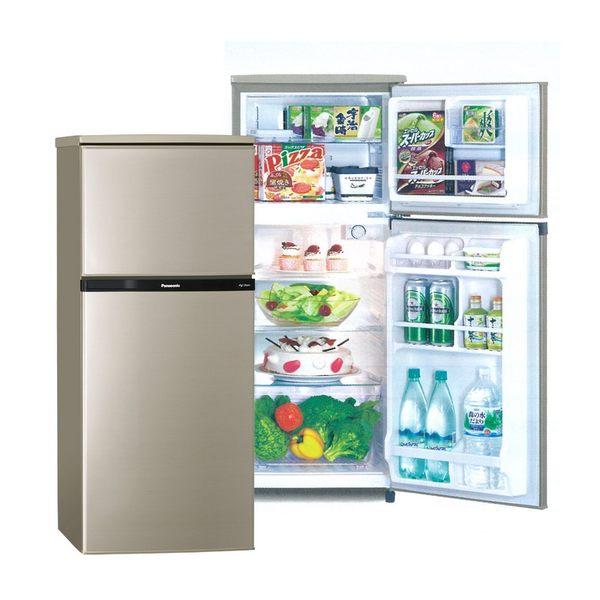★贈玻璃保鮮罐2入【國際牌】130L雙門電冰箱/亮彩金NR-B139TV-R 含基本安裝