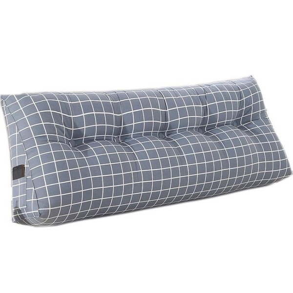 靠枕 床頭靠墊大靠背雙人床上榻榻米床頭板軟包靠背墊三角護腰靠枕簡約『鹿角巷YTL』