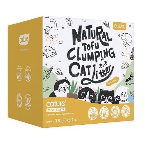 *WANG*Cature凱沃 天然豆腐凝結貓砂 20L/包 高達400%吸收力,用量更省