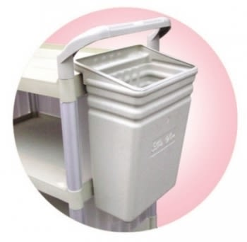 塑鋼垃圾桶 (塑鋼推車用)