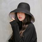 《日系帽》日系原宿風雙面可戴大帽沿遮陽帽 防曬帽 漁夫帽 HY409