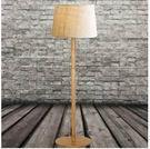 設計師美術精品館超低價 北歐宜家美式鄉村鐵藝仿木紋落地燈布藝燈臥室客廳地燈